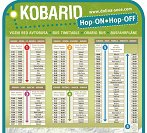 Hop on Hop off Kobarid vozni red