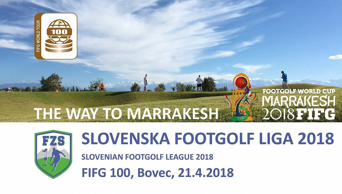 Slovenka footgolf liga 2018
